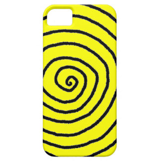 Enso Yellow Spiral iPhone 5 Case