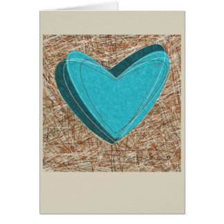 Entangled Hearts Greeting Card. Unique! Card