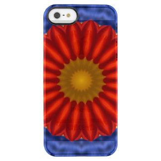 Ente auf Blau mit Rot Kaleidoscope iPhone 6 Plus Case