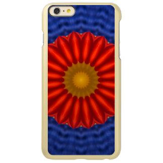 Ente auf Blau mit Rot Kaleidoscope Incipio Feather® Shine iPhone 6 Plus Case