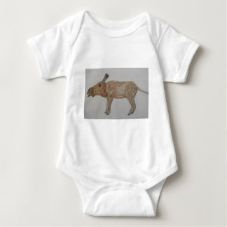 Entelodonts NOT extinct Baby Bodysuit