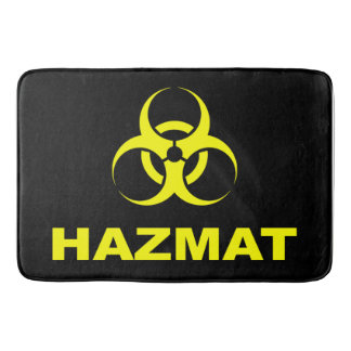 Enter At Your Own Risk - Hazmat Bathmat Bath Mats