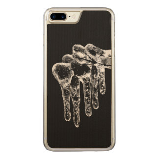 enter icy winter carved iPhone 8 plus/7 plus case