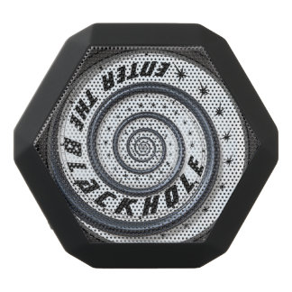 Enter the Black Hole Black Bluetooth Speaker