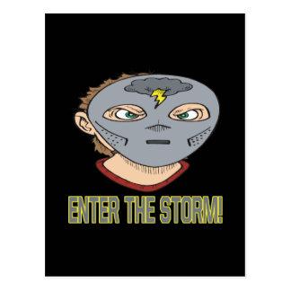Enter The Storm Postcard