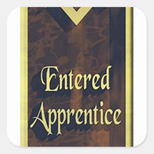 Entered Apprentice Square Sticker