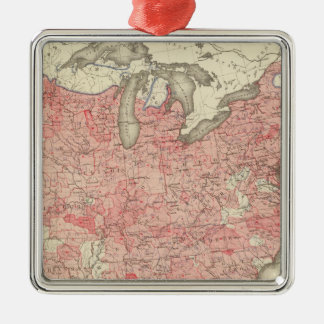 Enteric, Cerebrospinal, Typhus Deaths in the US Christmas Ornament