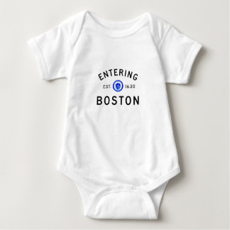 Entering Boston Baby Bodysuit
