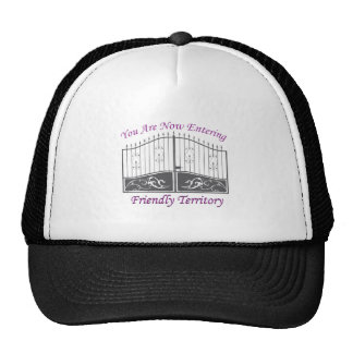 Entering Friendly Territory Mesh Hats