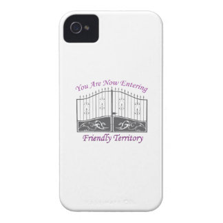 Entering Friendly Territory iPhone 4 Cases