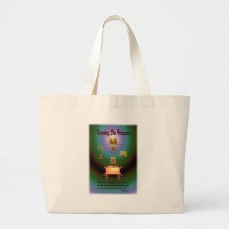 Entering His Presence Canvas Bags