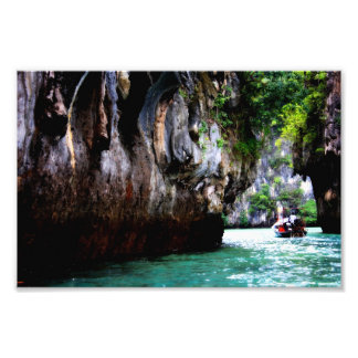 Entering Hong Island, Thailand Print Photo