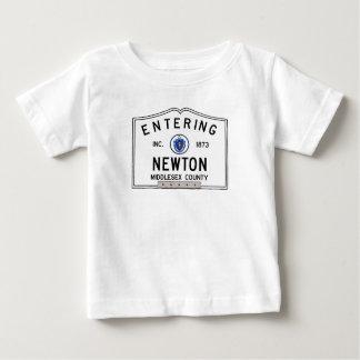 Entering Newton Baby T-Shirt