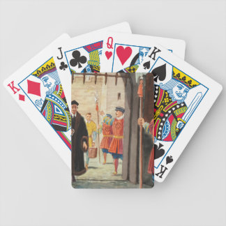 Entering the Tower of London Deck Of Cards