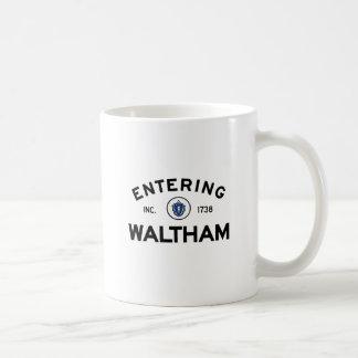 Entering Waltham Coffee Mug