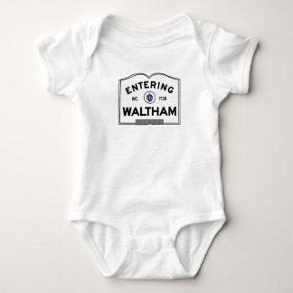 Entering Waltham Infant Creeper