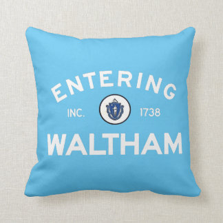 Entering Waltham Throw Cushions