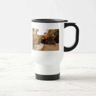 Entering Woodstock Coffee Mugs