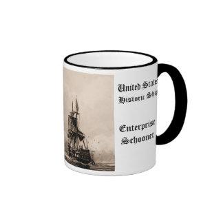 Enterprise Schooner   United States Historic ship Mugs