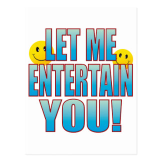 Entertain You Life B Postcard