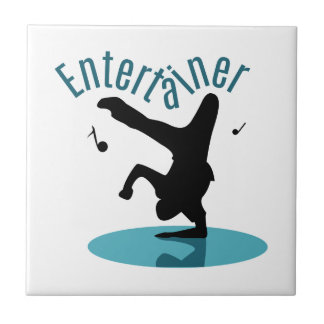 Entertainer Small Square Tile
