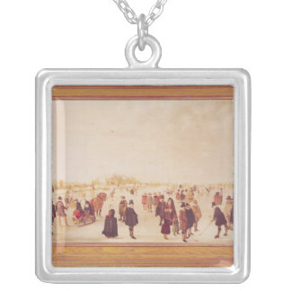 Entertainment on the Ice Silver Plated Necklace