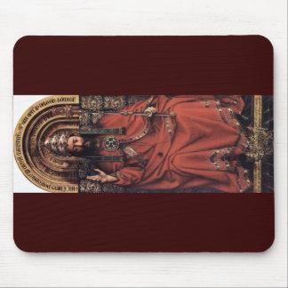 Enthroned God The Father By Eyck Hubert Van (Best Mousepad
