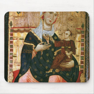 Enthroned Madonna and Child, c.1260 Mouse Pad