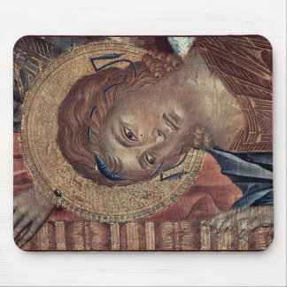 Enthroned Madonna With Eight Angels, Four Prophets Mouse Pads