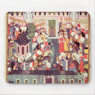 Enthronement of Suleyman the Magnificent Mouse Mat