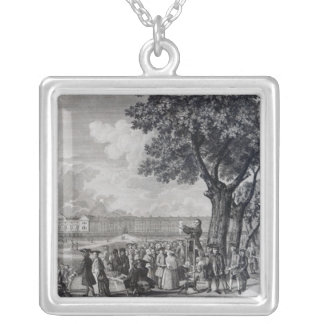 Enthusiasm Displayed Silver Plated Necklace