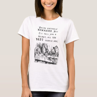 entirely bonkers A4 T-Shirt