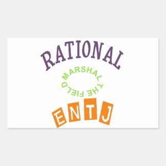 ENTJ Rationals Personality Rectangular Sticker