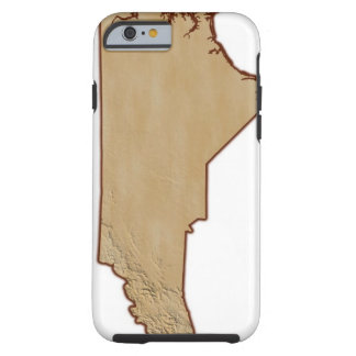 Entlastungs-Karte des North Carolina Tough iPhone 6 Case