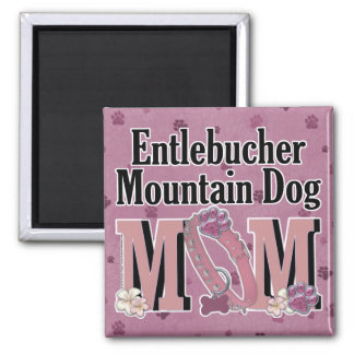 Entlebucher Mountain Dog MOM Square Magnet