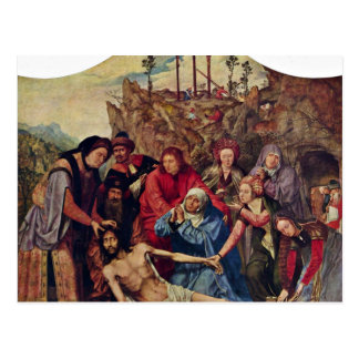 Entombment By Massys Quentin (Best Quality) Post Card