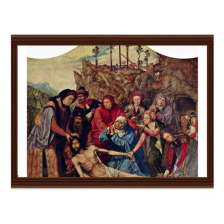 Entombment By Massys Quentin (Best Quality) Post Cards