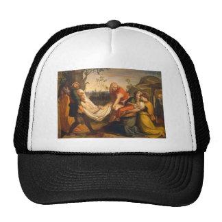Entombment of Christ c. 1800's Cap