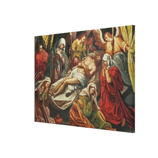 Entombment of Christ, Villabranca Canvas Print