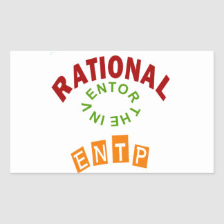 ENTP Rational personality Stickers