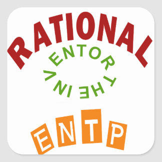 ENTP Rational personality Sticker