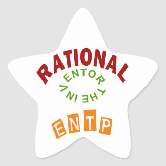 ENTP Rationals Personality Star Sticker