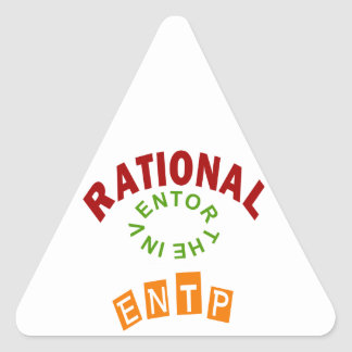 ENTP Rationals Personality Triangle Sticker