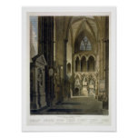 Entrance into Poet's Corner, plate 26 from 'Westmi Print
