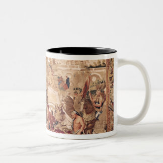 Entrance of Alexander III  the Great into Two-Tone Mug