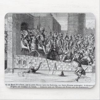 Entrance of Henri IV  into Paris Mouse Pad