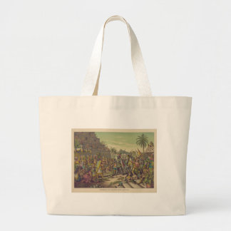 Entrance of Hernan Cortez into Mexico Nov 8th 1519 Jumbo Tote Bag