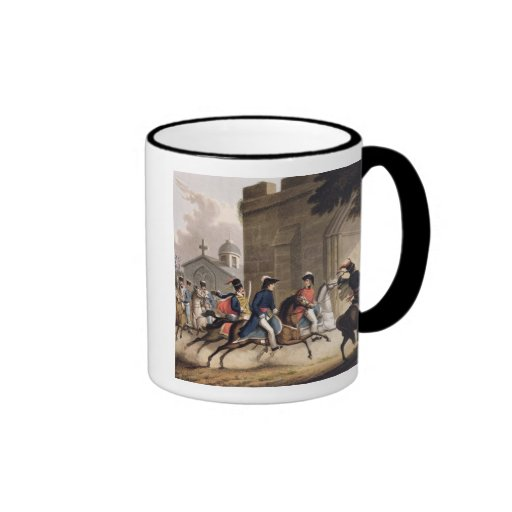 Entrance of Lord Wellington into Salamanca at the Coffee Mug