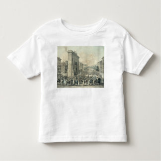 Entrance of Louis XVIII  through Porte Toddler T-Shirt