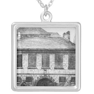 Entrance of the prison 'La Petite Force' Silver Plated Necklace